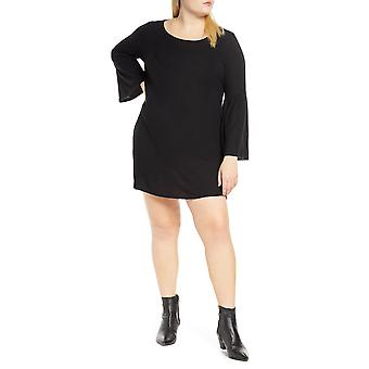 B Collection by Bobeau   Bell Sleeves Shift Sweaterdress