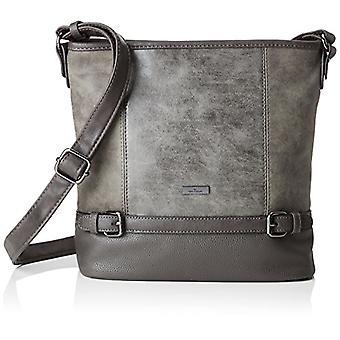 Tom Tailor Juna - Crossbody bag, Grey (grey.), 10x28x30 cm (B x H x T)
