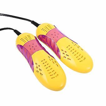 Eu Plug Race Car Shape, Protector de secador de zapatos, Dispositivo de deshumidificación de desodorante,