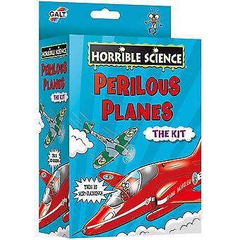 Perilous Planes Horrible Science Activity Set