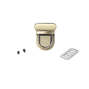 Buckle Twist Lock, Hardware For Bag, Shape Handbag, Diy Turn Clasp Tongue Latch