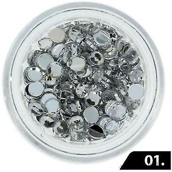 Zircon sten (Glas) - 3 mm - 200 stk - 01