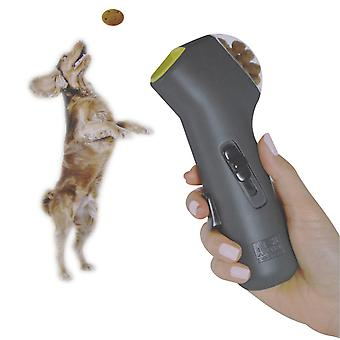 Dog Food Feeder Funny Pet Launcher Puppy Snack Hand Held Catapult Pet Training