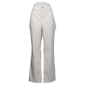 NYDJ Femmes Plus Jeans Marilyn Straight Cool Embrace Blanc A395678
