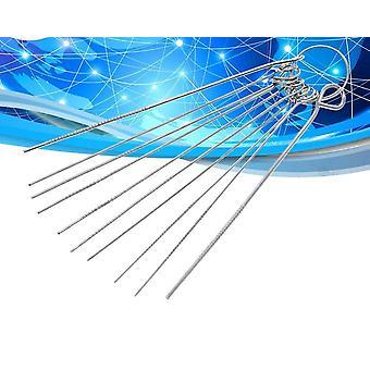 10 rodzaje ze stali nierdzewnej Zestaw igieł Pcb Elektroniczny obwód przez igłę otworu