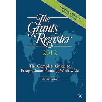 Bidragsregistret 2012 av Palgrave MacMillan Ltd