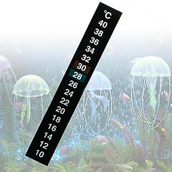Akvárium Akvárium Teploměr Temp Sticker Stick Na teplotní pásek Digitální