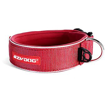 Ezydog Neoprene Collar Neo Wide Red (Dogs , Collars, Leads and Harnesses , Collars)