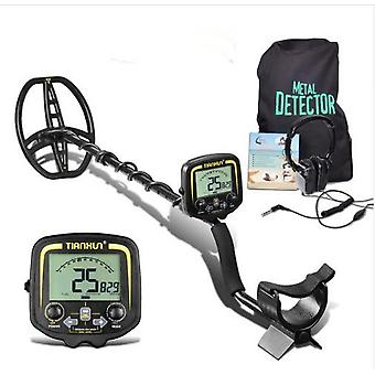 TIANXUN TX850 3.7-inch LCD Metal Detector High Sensitive Outdoor Underground Metal Finder for Gold Prospecting Relic Hunting