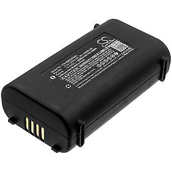Battery for Garmin 010-12456-06 361-00092-00 GPSMAP 276Cx GPS Navigation 6800mAh