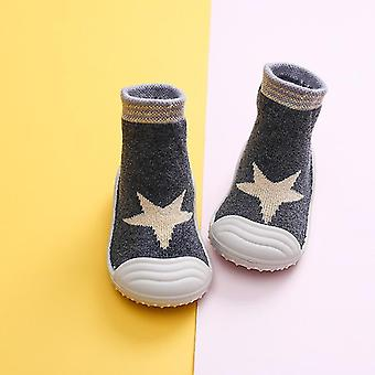 Soft Bottom Non-slip Baby Shoes With Rubber Soles