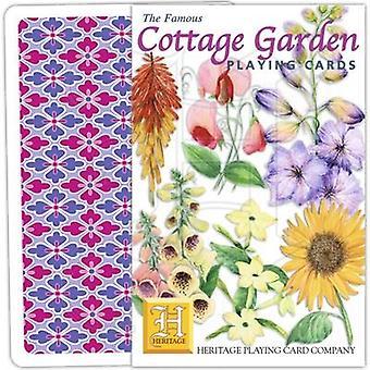 Cottage Garden von Heritage Spielkarten