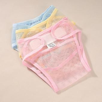 Pañales de tela para bebés Pañal lavable Pañal de bolsillo Pantalones de entrenamiento para bebés