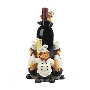 Accent Plus Chefs All Around Wine Bottle Holder, Pack of 1