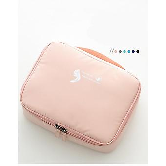 Borse cosmetiche Poliestere Resistente all'acqua Travel Makeup Case Organizer Portable Artist Storage Bag