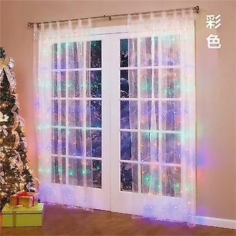 Twinkle Star Led Fenster Vorhang String Licht