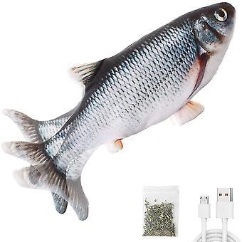 Mozgó Macska Kicking Fish Toy