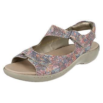 Ladies Remonte Velcro Sandals R8565