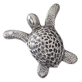 Abridor de alumínio do frasco de lama torta Dimensional esculpido tartaruga