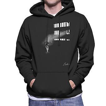 David Bowie In Edinburgh 1990 Men's Hooded Sweatshirt