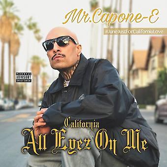 Mr Capone-E - Kalifornien kärlek: All Eyez på mig [CD] USA import