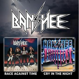 Banshee - Race Against Time / Cry in the Night [CD] USA import