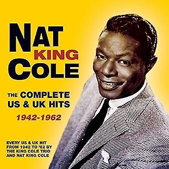 NAT King Cole - Cole Nat King komplett oss & Uk Hits 19 [DVD] USA importere