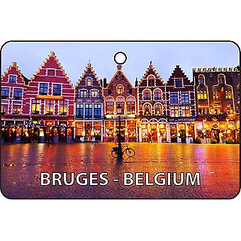 Bruges - Belgium Car Air Freshener