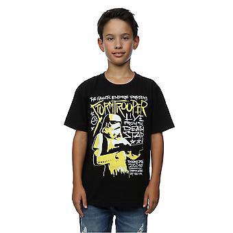 Star Wars jungen Stormtrooper Rock Poster T-Shirt