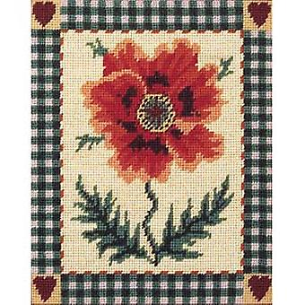 Shaker Poppy Needlepoint Kit