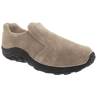 PDQ Womens/Ladies Real Suede Ryno Slip-On Casual Trainers