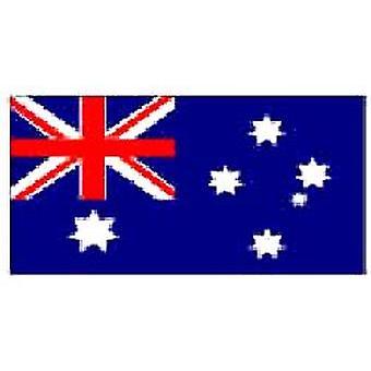 オーストラリア吊り下げ用アイレット付き 5 フィート × 3 フィートをフラグ