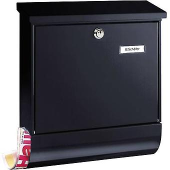 بورغ Wächter 31460 VARIO 8672 S Letterbox الصلب لوحة المفتاح الأسود