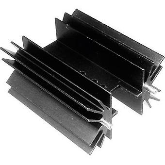 ASSMANN WSW V8511W Disipador de calor de aleta 6,5 K/W (L x An x H) 25,4 x 41,6 x 25 mm a 220, TOP 3, SOT 32