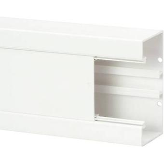 Heidemann 09823 Trunking (W x H x D) 2000 x 130 x 65 mm 1 pc(s) Pure white
