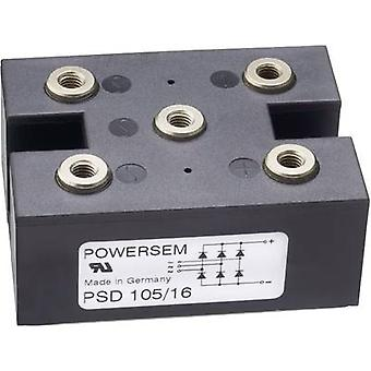 POWERSEM PSD 105-16 Diode bridge Figure 15 1600 V 160 A 3-phase