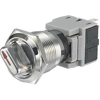 TRU komponenter LAS1-BGQ-11 X / 23 manipuleringssäkra rotary switch 250 V AC 5 A växla postions 2 1 x 90 ° IP40 1 dator