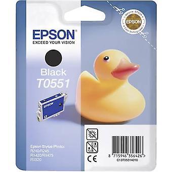 Inkt voor Epson T0551 originele zwarte C13T05514010
