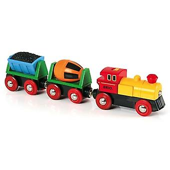 BRIO Battery Operated Action Train 33319 with Headlight for Wooden Train Set