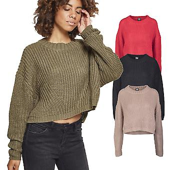 Urban classics ladies - wide oversize sweater knitted sweater