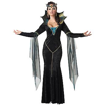 Evil Sorceress Wicked Witch Enchantress Fairytale Story Book Womens Costume