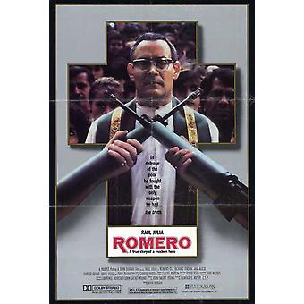 Romero Movie Poster (11 x 17)