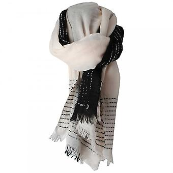 Marie Mero Black Swan Long Scarf