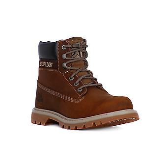 Cat colorado dark beige boots/booties