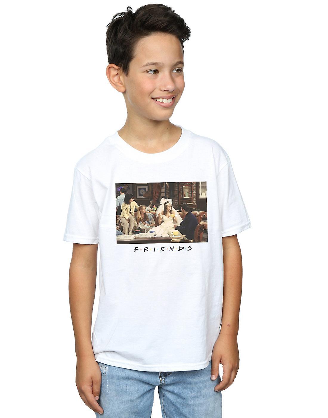 Friends Boys Rachel Wedding Dress T-Shirt