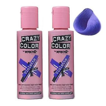 Renbow Crazy Color Violette - 43 (2-Pack)