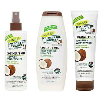 Palmer's Coconut Oil Formula Shampoo, Conditioner & Leave-in Conditioner