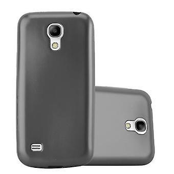 Cadorabo Hülle für Samsung Galaxy S4 MINI Case Cover - Handyhülle aus flexiblem TPU Silikon – Silikonhülle Schutzhülle Ultra Slim Soft Back Cover Case Bumper