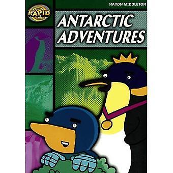 Snabba steg 5 Set B: Antartcic äventyr (serie 1)