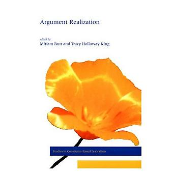 Réalisation de l'argument (Studies in Constraint-based Lexicalism)